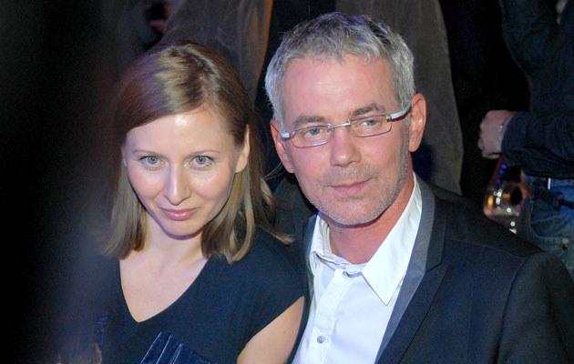 Robert Janowski z żoną, fot. Marek Ulatowski  /MWMedia