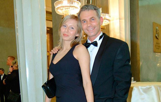 Robert Janowski z żoną, fot. Prończyk  /AKPA