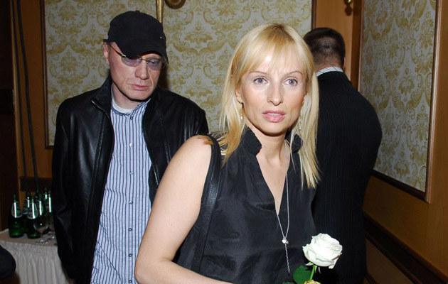 Robert Janson z żoną Beatą  /East News