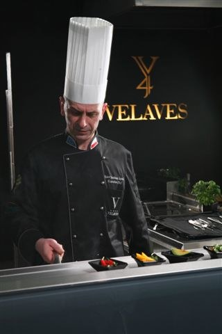 Robert Joachimiak-Szpinda - szef kuchni Velaves Spa & Resort /- /materiały prasowe