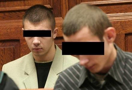 Robert K. i Łukasz K. zostali skazani w procesie o zabójstwo Beksińskiego/fot. T. Zieliński /Agencja SE/East News
