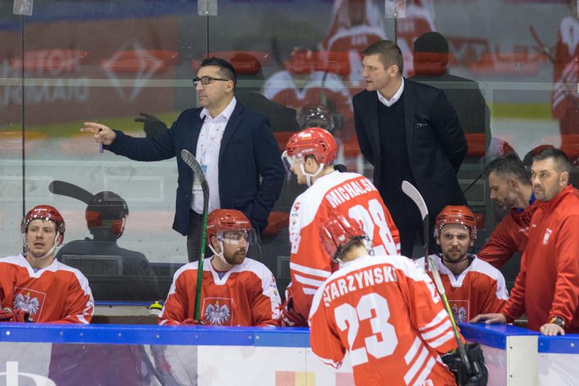 Robert Kalaber (w marynarce po lewej) i Leszek Laszkiewicz (w marynarce po prawej) /Michał Chwieduk /Newspix