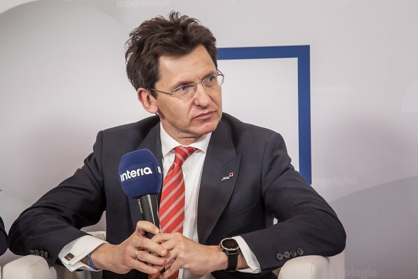 Robert Kasprzak, dyrektor zarządzający Pionem Zarządzania Produktami BGK /INTERIA.PL