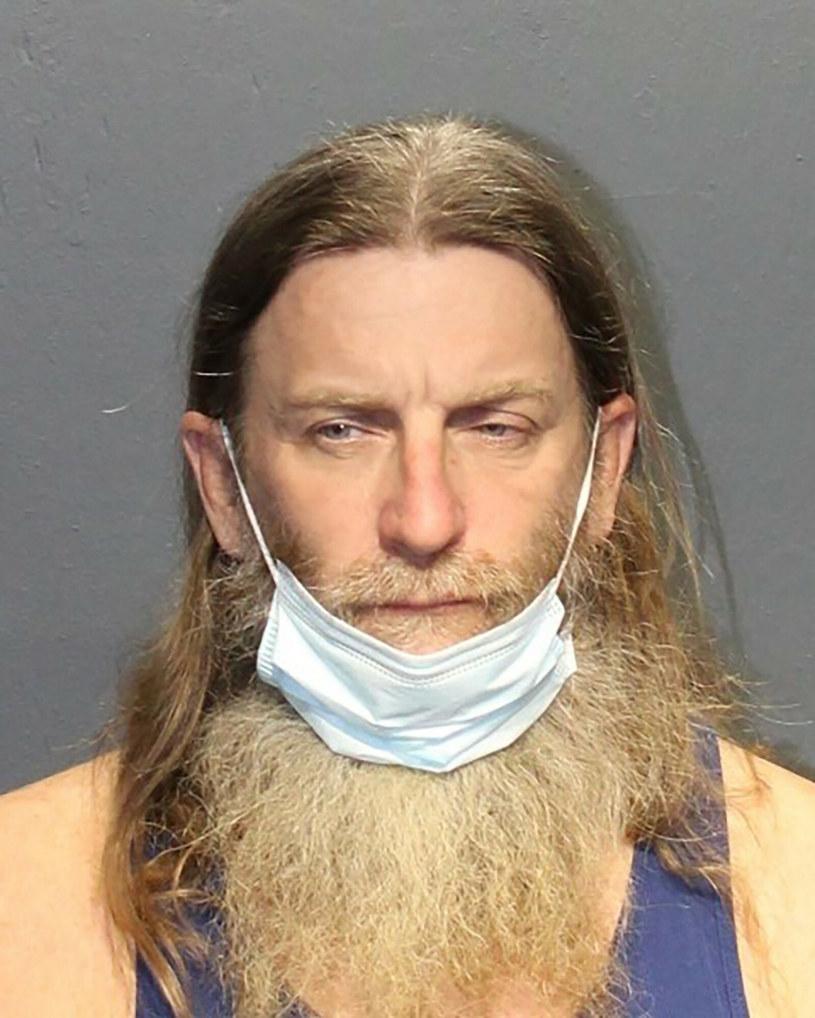 Robert Keith Packer brał udział w zamieszkach na Kapitolu fot. Western Tidewater Regional Jail / AFP /East News