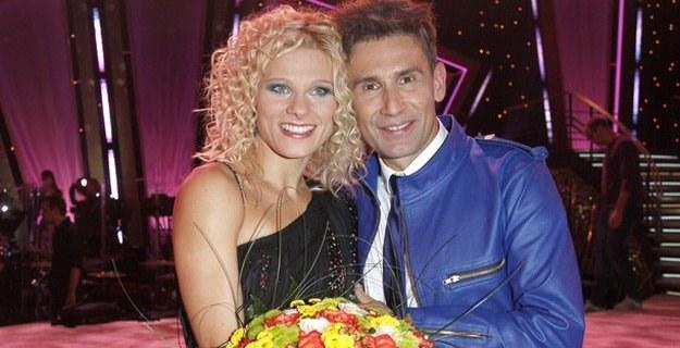 Robert Korzeniowski i Anna Głogowska /AKPA