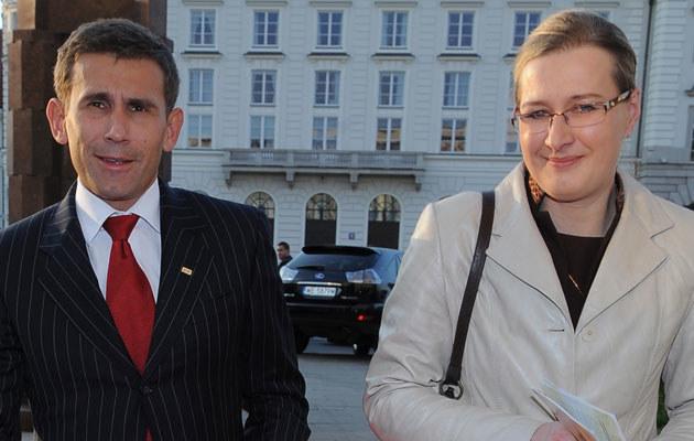 Robert Korzeniowski walczy z żoną, fot. Andras Szilagyi  /MWMedia