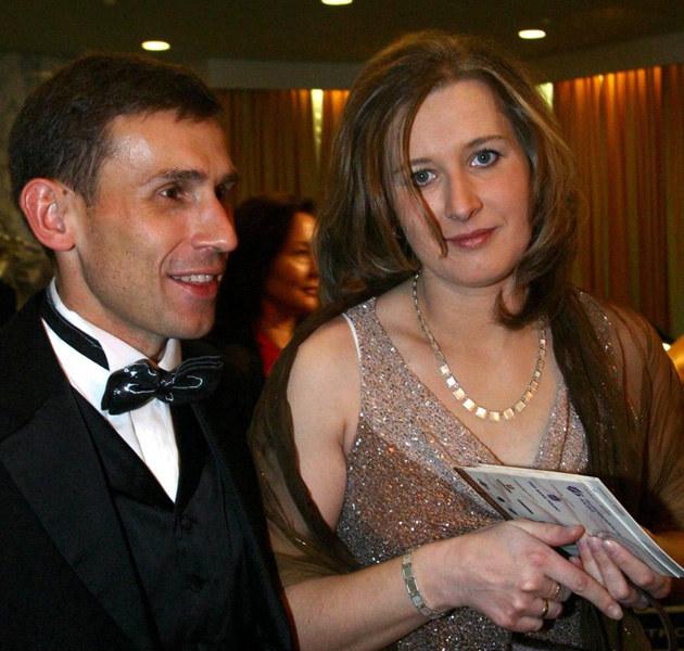 Robert Korzeniowski z byłą żoną Agnieszką  /Jan Zdziarski /East News