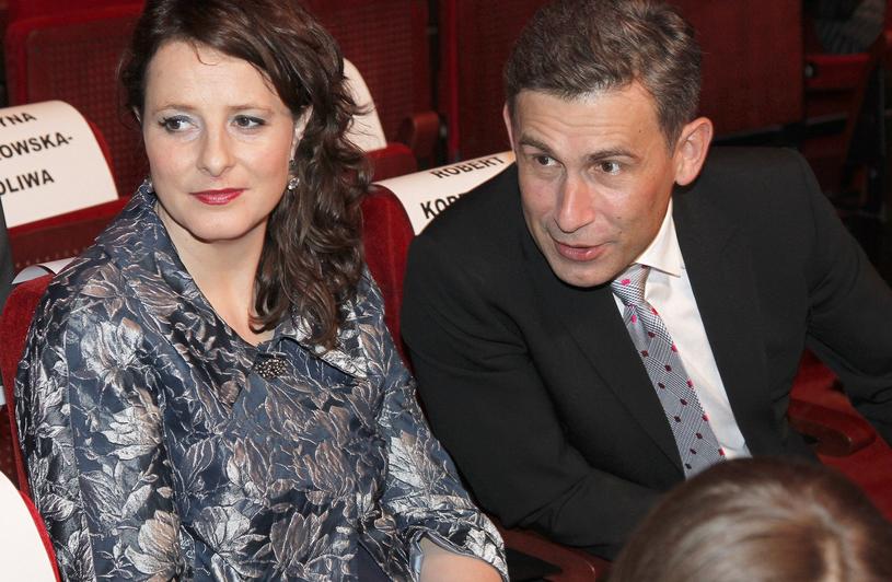 Robert Korzeniowski z żoną Magdaleną / Engelbrecht /AKPA