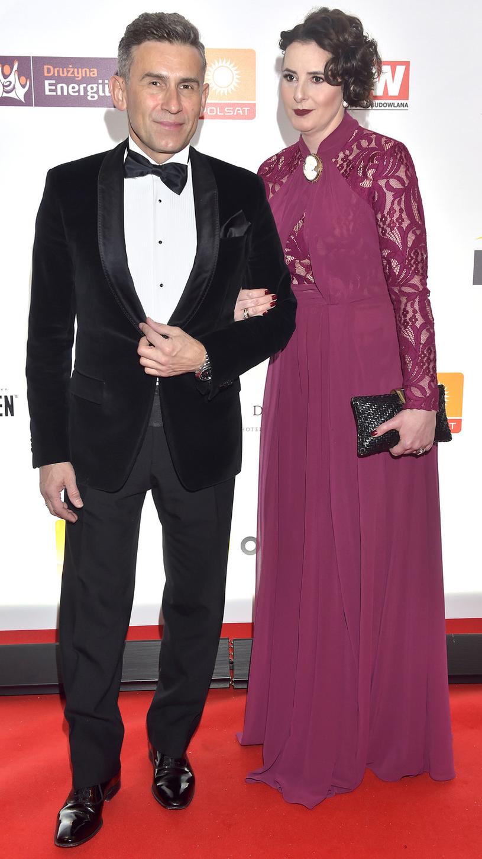 Robert Korzeniowski z żoną Magdaleną /Kurnikowski /AKPA