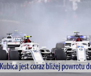Robert Kubica coraz bliżej Formuły 1. Wideo