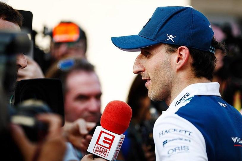 Robert Kubica fizycznie czuje się świetnie / Fot. Facebook Williams F1 /