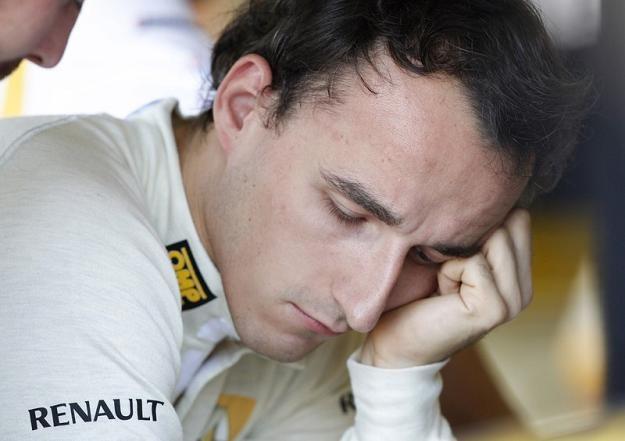 Robert Kubica. Fot. AP /Agencja SE/East News