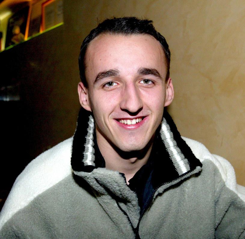 Robert Kubica jako kierowca Formuły 3 /Michał Szalast /East News