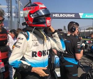 """Robert Kubica: """"jestem zadowolony, że wyścig udało się ukończyć"""""""