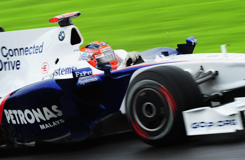 Robert Kubica jeszcze w barwach zespołu BMW Sauber /Getty Images