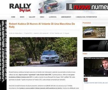 Robert Kubica jeździł Renault Clio S1600