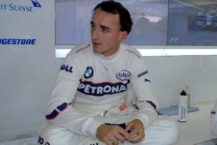 Robert Kubica może tylko czekać / Kliknij /INTERIA.PL