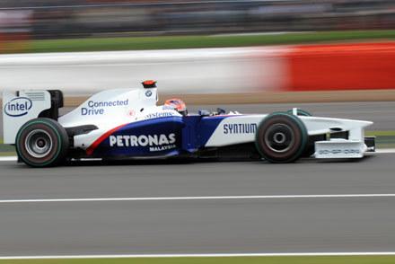 Robert Kubica na Silverstone /