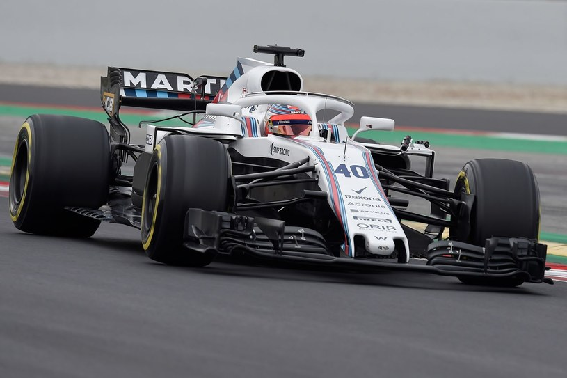 Robert Kubica na torze Circuit de Catalunya /AFP