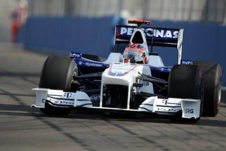 Robert Kubica na Valencia Street Circuit /AFP