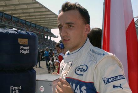 Robert Kubica nie był zadowolony z opon /  Kliknij /INTERIA.PL