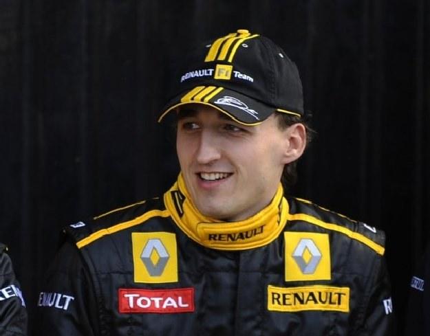 Robert Kubica nie wpadł w zachwyt po drugim miejscu w Melbourne /AFP
