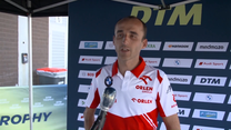 Robert Kubica o weekendzie w DTM na torze Spa. Wideo