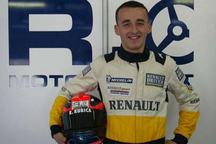 Robert Kubica. Październik 2002 /INTERIA.PL