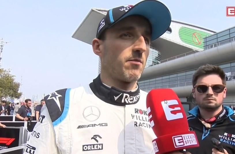 Robert Kubica po kwalifikacjach do Grand Prix Chin /INTERIA.PL
