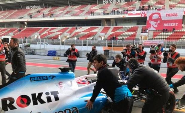 Robert Kubica po testach bolidu Williamsa!