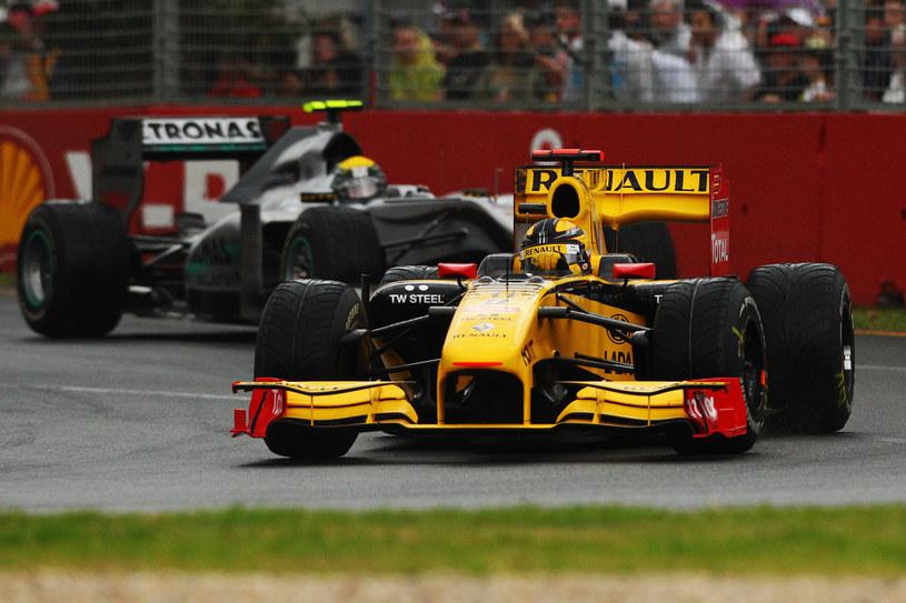 Robert Kubica podczas Grand Prix Australii 2010 /Ryan Pierse /Getty Images
