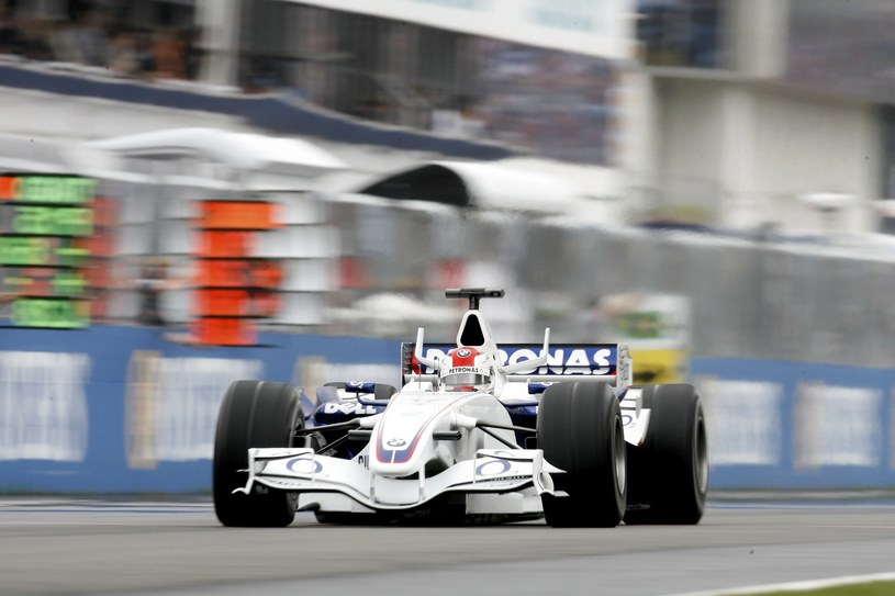 Robert Kubica podczas grand Prix Węgier 2006 /Mark Thompson /Getty Images