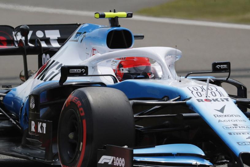 Robert Kubica podczas kwalifikacji do Grand Prix Chin /PAP/EPA