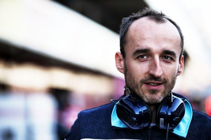 Robert Kubica podczas tegorocznych testów Williamsa w Barcelonie /XPB /East News
