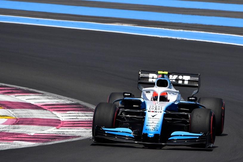 Robert Kubica podczas wyścigu o Grand Prix Francji 2019 /AFP