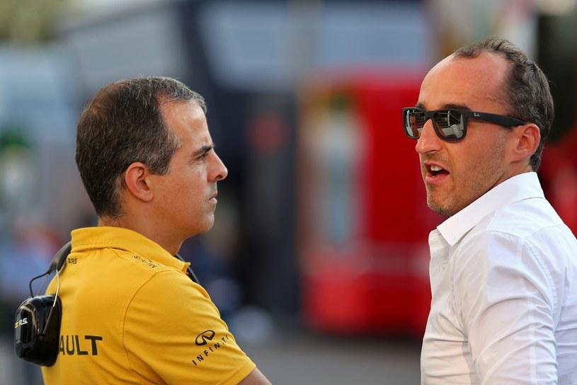 Robert Kubica pojawił się na torze podczas GP Włoch /XPB Images/Press Association Images/EAST NEWS  /
