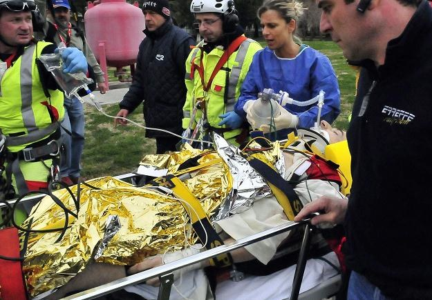 Robert Kubica przeżył koszmarny wypadek podczas rajdu Ronde di Andora /AFP
