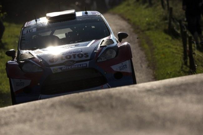 Robert Kubica startuje w Rajdzie Francji po raz drugi w karierze /NIKOS MITSOURAS /PAP/EPA