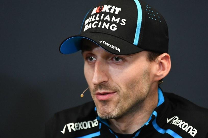 Robert Kubica w barwach Williamsa /AFP