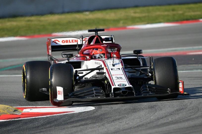 Robert Kubica w bolidzie Alfy Romeo /AFP