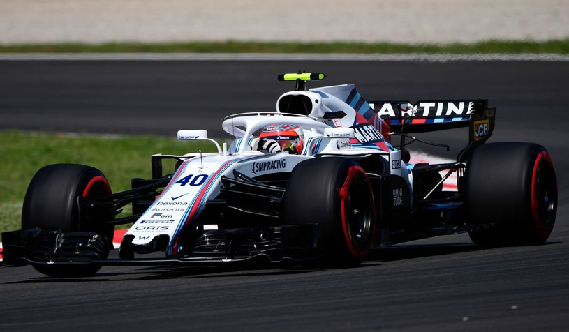 Robert Kubica w bolidzie Williamsa /AFP