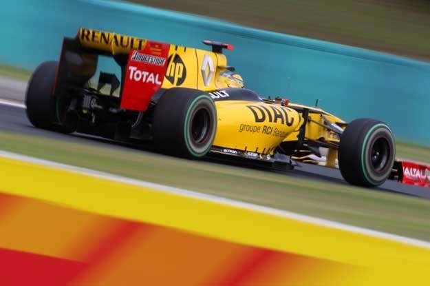 Robert Kubica wycofał się z wyścigu na Hungaroring /