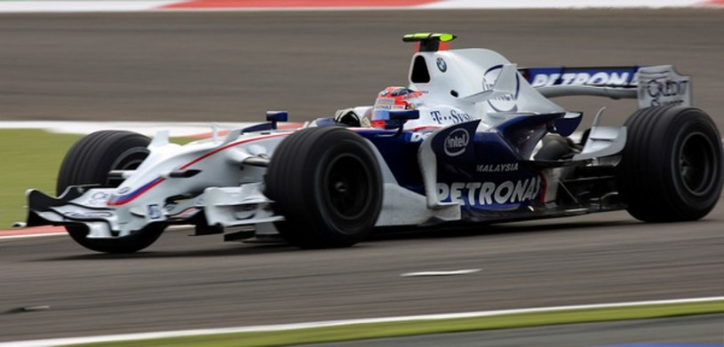Robert Kubica za kierownicą BMW Sauber /AFP
