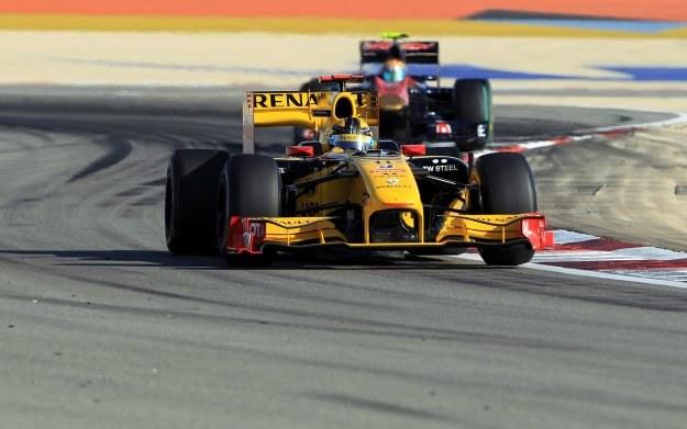 Robert Kubica zajął 11. miejsce w wyścigu o GP Bahrajnu /AFP