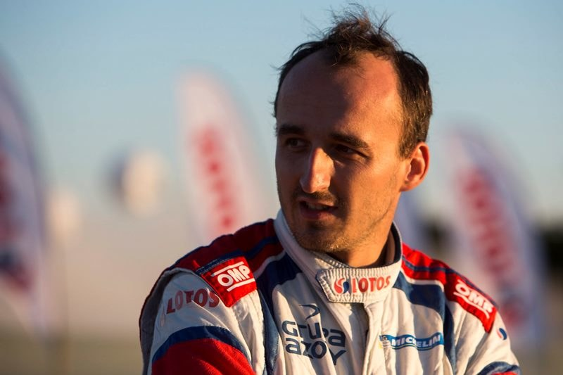 Robert Kubica /NIKOS MITSOURAS /PAP
