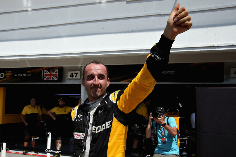Robert Kubica /Charles Coates /Getty Images