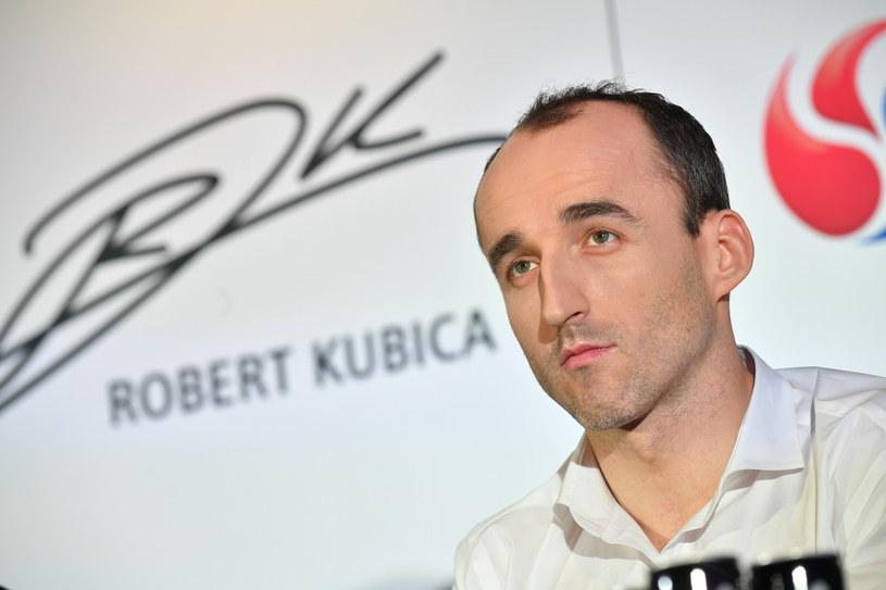 Robert Kubica /Bartłomiej  Zborowski /PAP