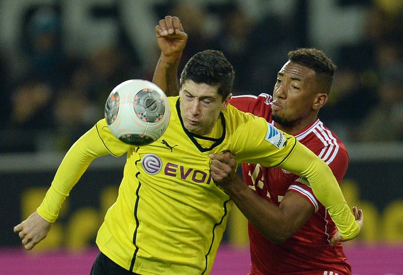 Robert Lewandowski 1 lipca zostanie piłkarzem Bayernu Monachium /AFP