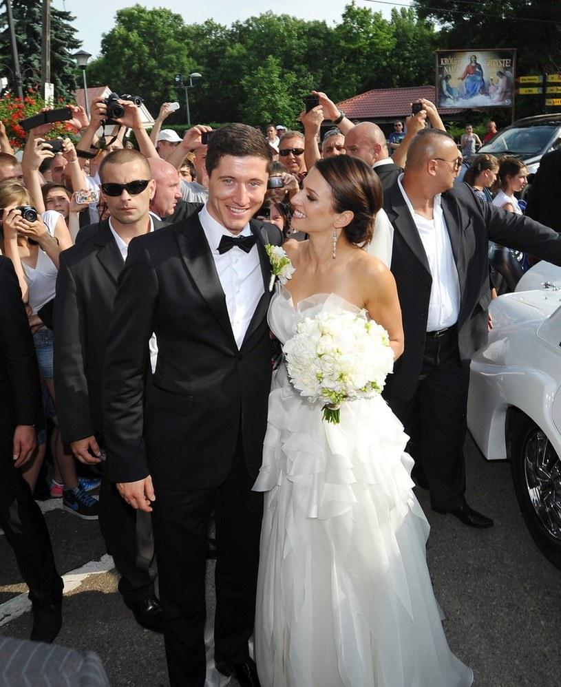 Robert Lewandowski, Anna Stachurska /East News