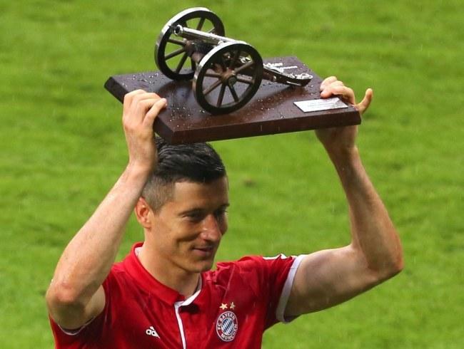 Robert Lewandowski (Bayern Monachium) /AFP